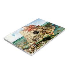 Lex Altern Hard Plastic MacBook Case Babel Tower Print