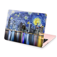 Lex Altern Hard Plastic MacBook Case Night City Art