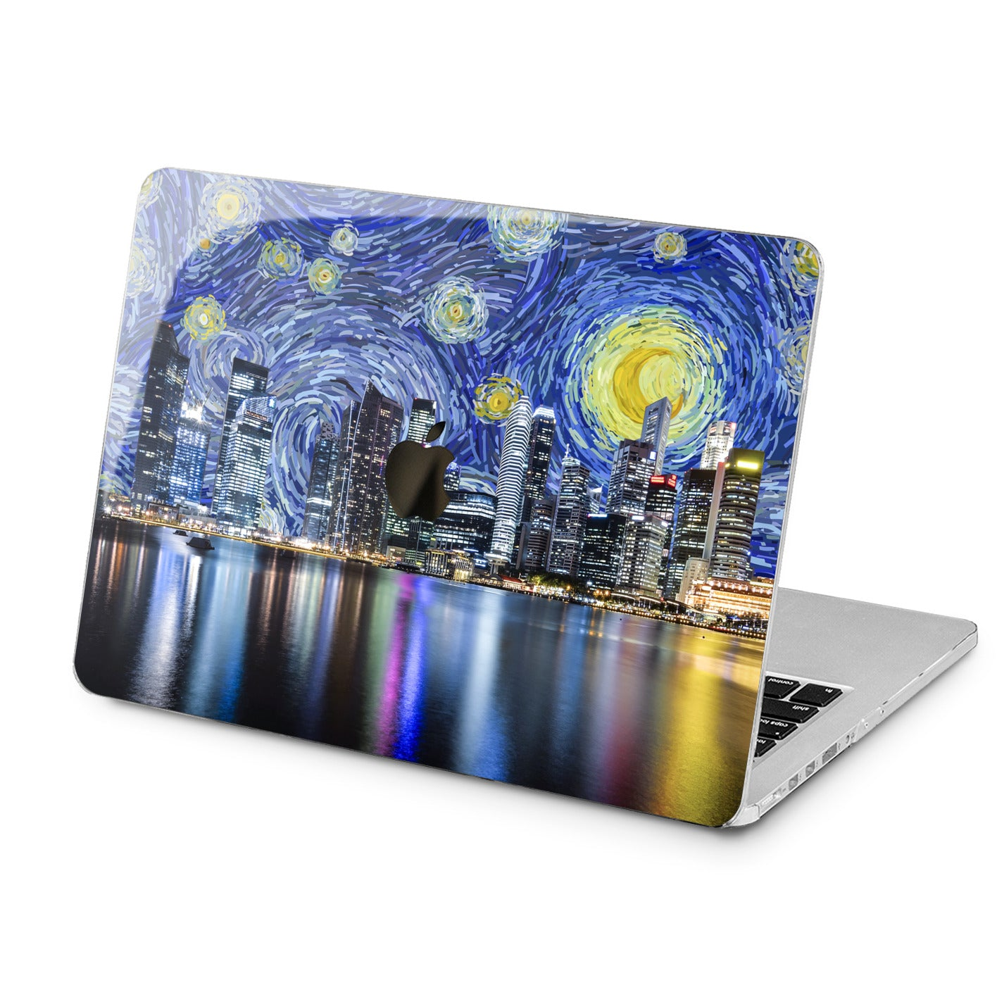 Lex Altern Lex Altern Night City Art Case for your Laptop Apple Macbook.