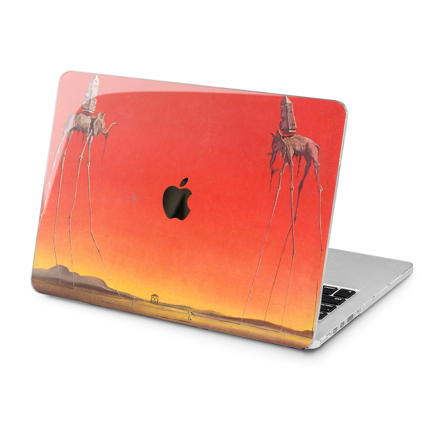 Lex Altern Lex Altern Creative Elephant Drawing Case for your Laptop Apple Macbook.