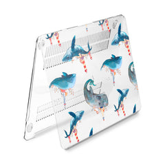 Lex Altern Hard Plastic MacBook Case Cute Whales