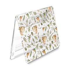 Lex Altern Hard Plastic MacBook Case Rabbit Pattern