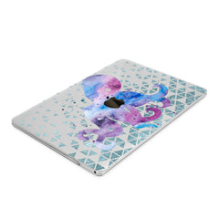 Lex Altern Hard Plastic MacBook Case Octopus Watercolor
