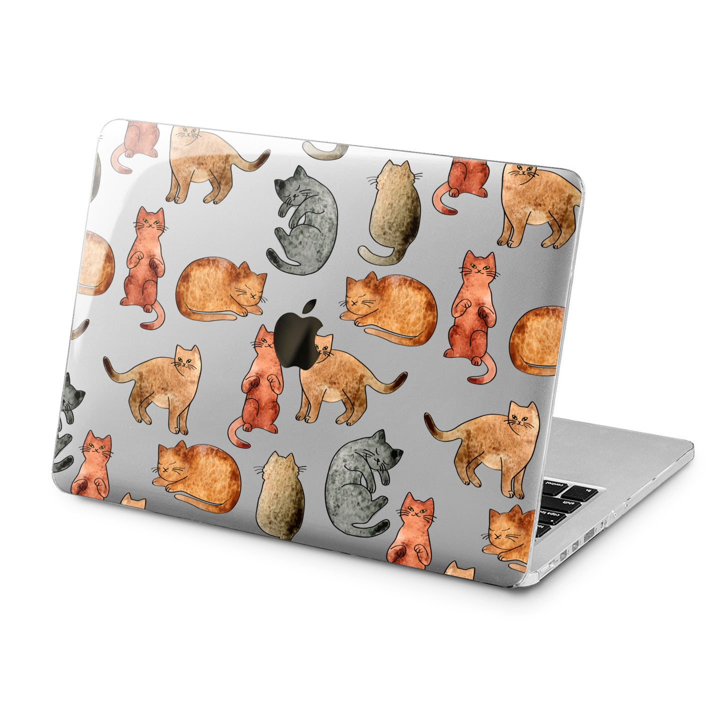 Lex Altern Lex Altern Cute Cats Case for your Laptop Apple Macbook.