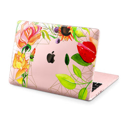 Lex Altern Hard Plastic MacBook Case Bright Plants
