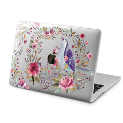 Lex Altern Lex Altern Wildflower Bird Case for your Laptop Apple Macbook.