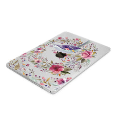 Lex Altern Hard Plastic MacBook Case Wildflower Bird