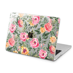 Lex Altern Lex Altern Floral Leaves Case for your Laptop Apple Macbook.