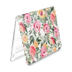 Lex Altern Hard Plastic MacBook Case Floral Leaves