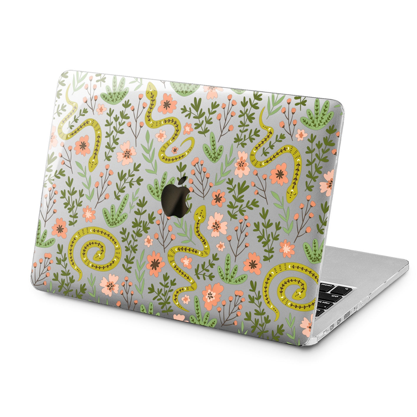 Lex Altern Lex Altern Cute Snakes Case for your Laptop Apple Macbook.