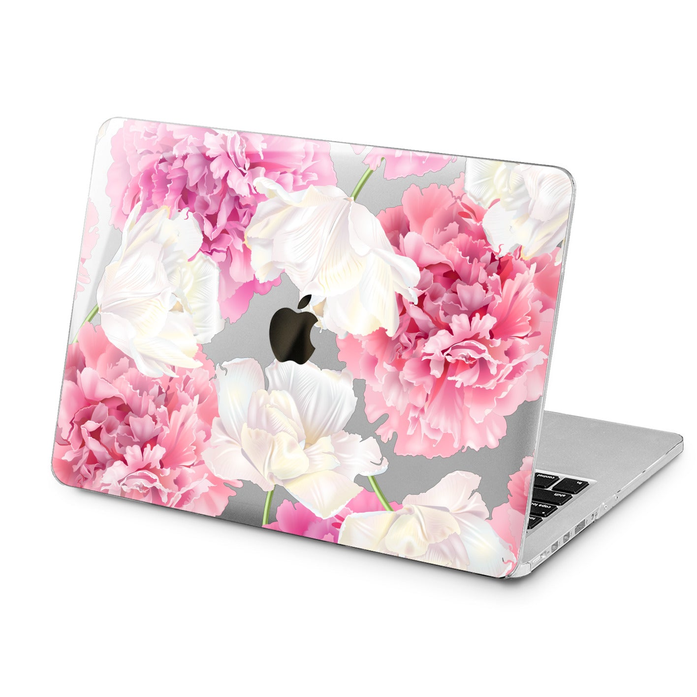 Lex Altern Lex Altern Fresh Peonies Case for your Laptop Apple Macbook.