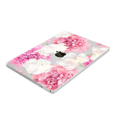 Lex Altern Hard Plastic MacBook Case Fresh Peonies