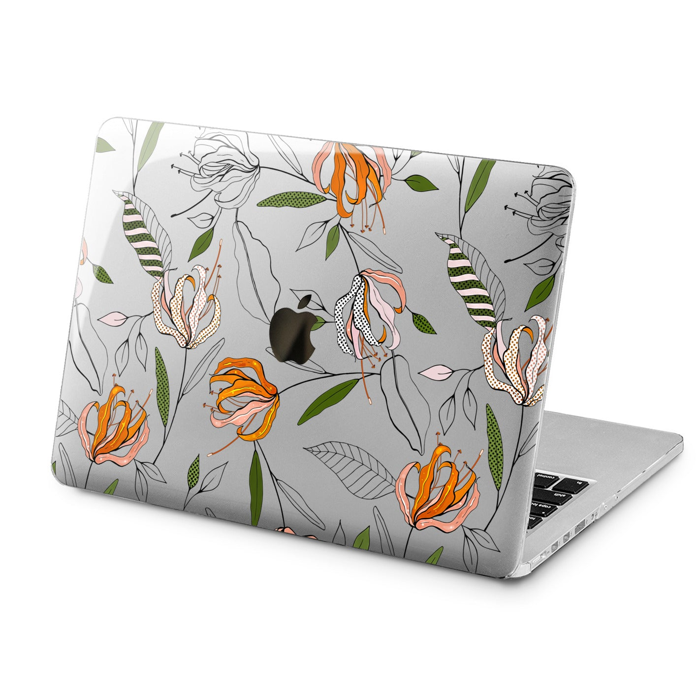 Lex Altern Lex Altern Floral Pattern Case for your Laptop Apple Macbook.