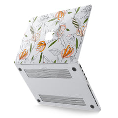 Lex Altern Hard Plastic MacBook Case Floral Pattern