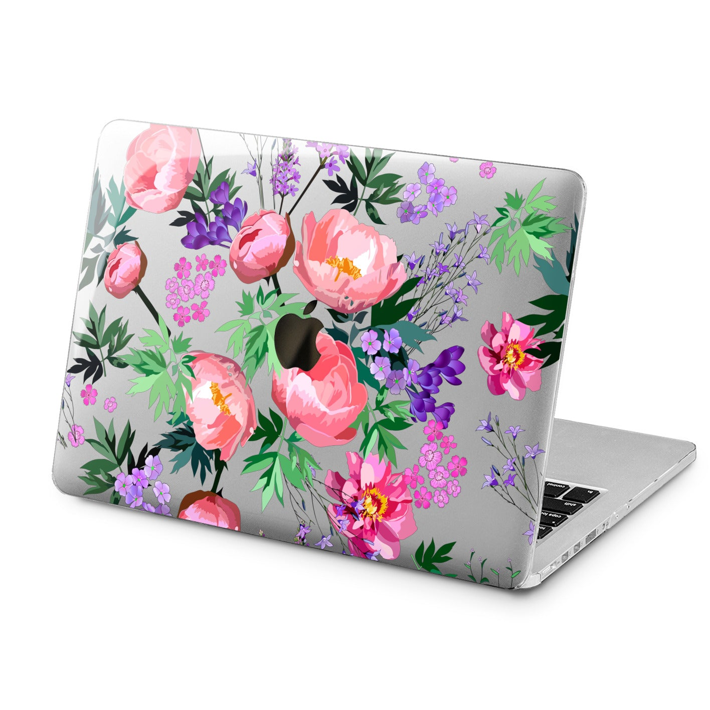 Lex Altern Lex Altern Peony Bouquets Case for your Laptop Apple Macbook.