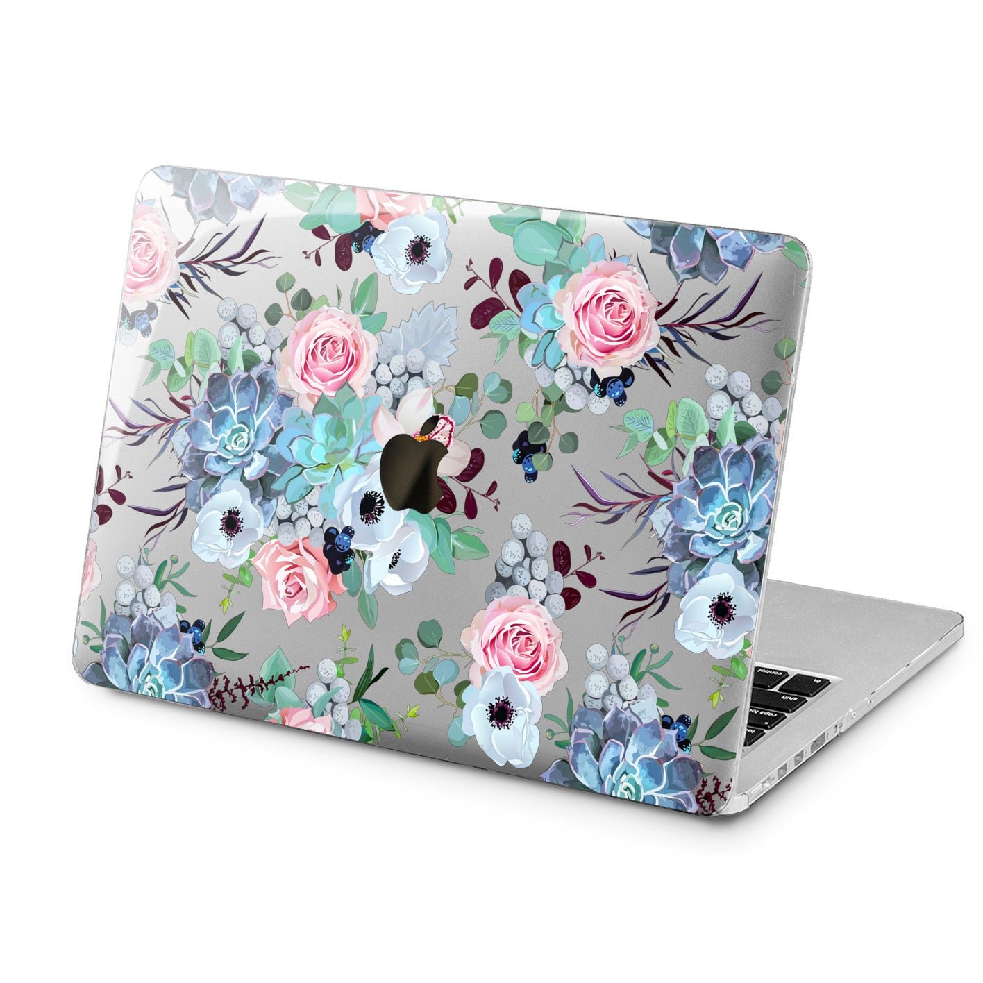 Lex Altern Lex Altern Succulent Blossom Case for your Laptop Apple Macbook.