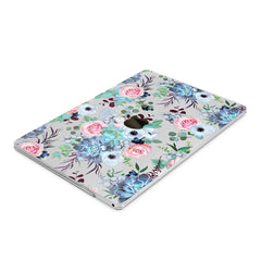 Lex Altern Hard Plastic MacBook Case Succulent Blossom