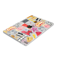Lex Altern Hard Plastic MacBook Case Cinema Pattern