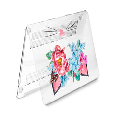 Lex Altern Hard Plastic MacBook Case Floral Cat