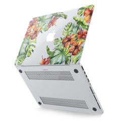 Lex Altern Hard Plastic MacBook Case Tropical Blossom