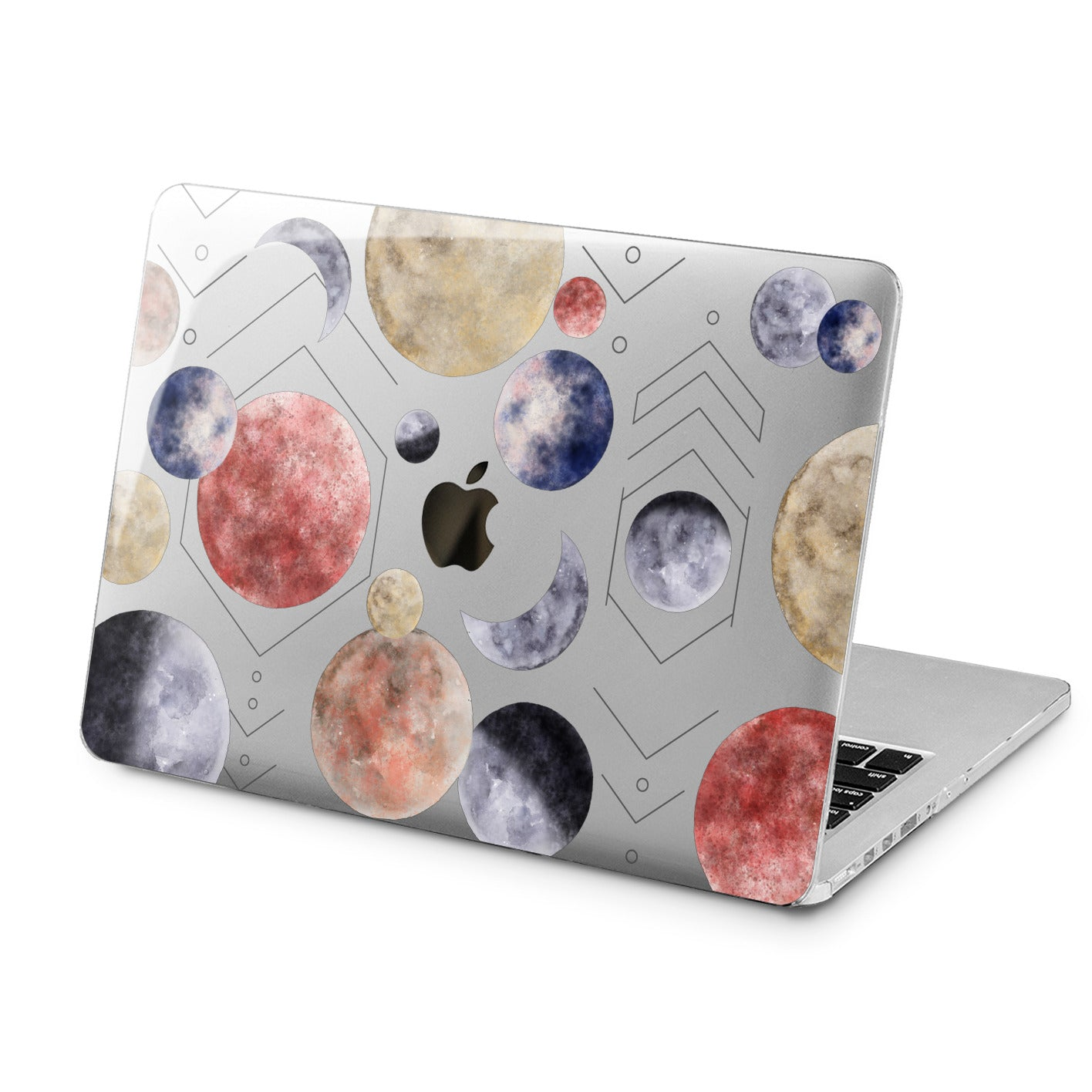 Lex Altern Lex Altern Geometric Planets Case for your Laptop Apple Macbook.