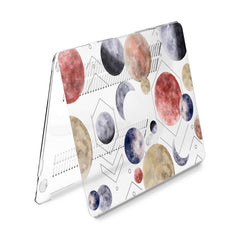 Lex Altern Hard Plastic MacBook Case Geometric Planets