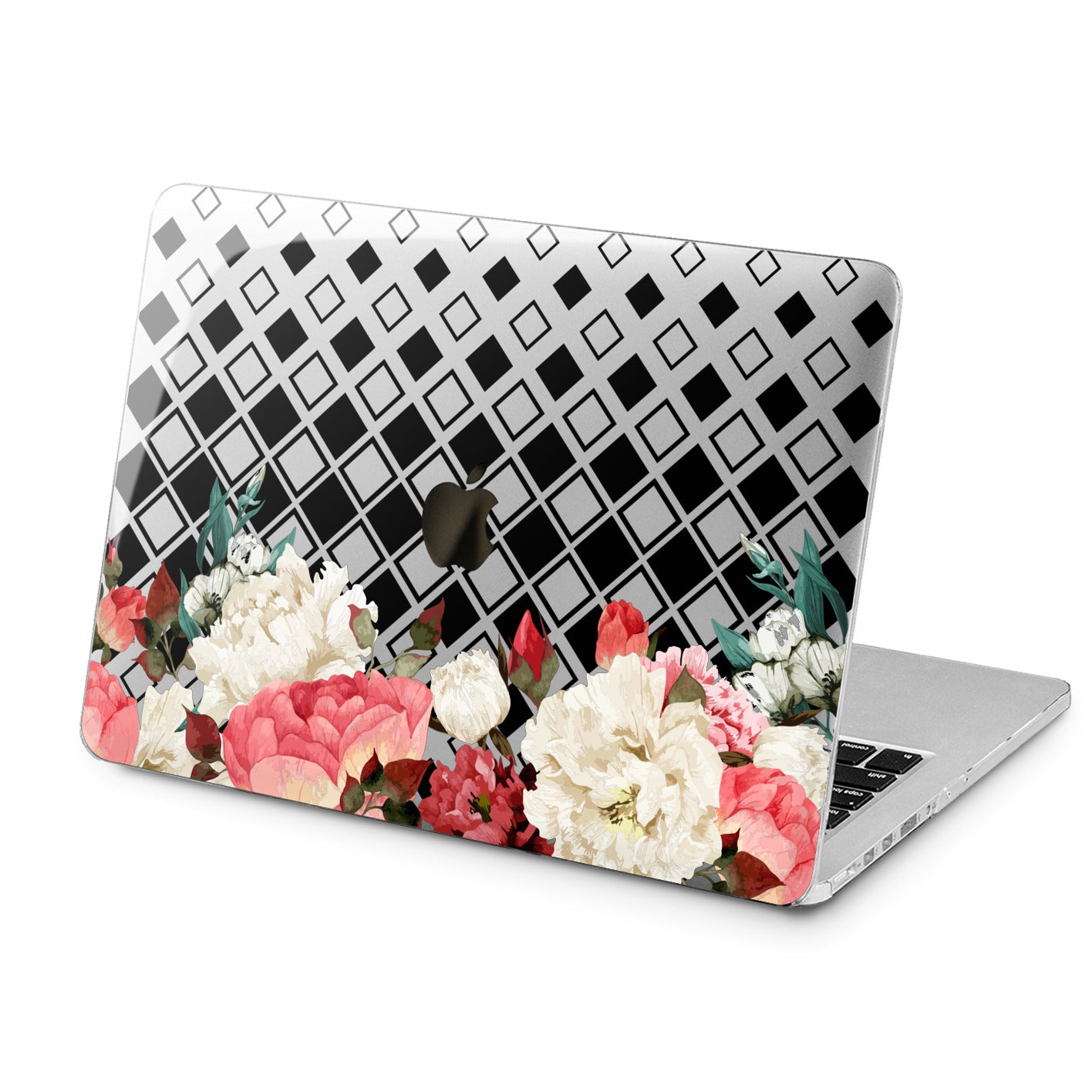 Lex Altern Lex Altern Floral Geometry Case for your Laptop Apple Macbook.