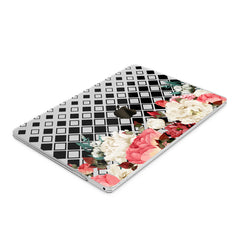 Lex Altern Hard Plastic MacBook Case Floral Geometry