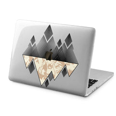 Lex Altern Lex Altern Geometric Mountains Case for your Laptop Apple Macbook.