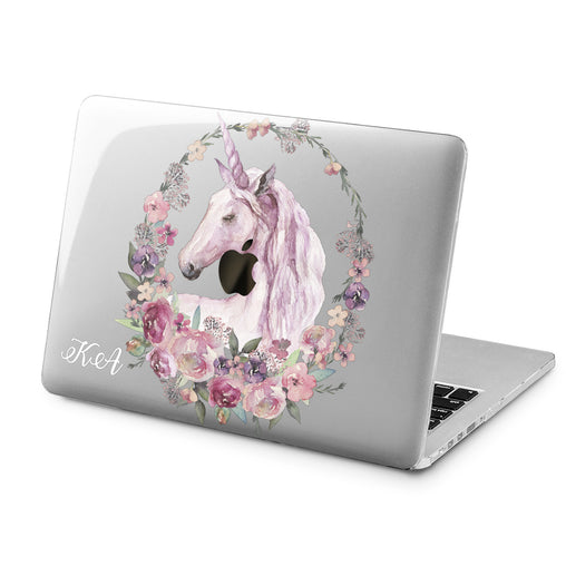 Lex Altern Lex Altern Floral Unicorn Case for your Laptop Apple Macbook.