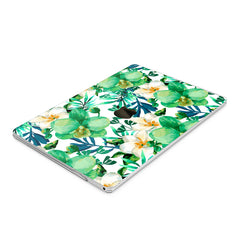 Lex Altern Hard Plastic MacBook Case Green Orchid
