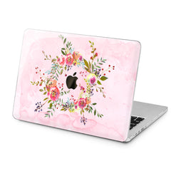 Lex Altern Lex Altern Wildflower Wreath Case for your Laptop Apple Macbook.