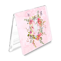 Lex Altern Hard Plastic MacBook Case Wildflower Wreath