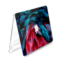 Lex Altern Hard Plastic MacBook Case Dark Rose