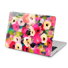 Lex Altern Lex Altern Abstract Flowers Case for your Laptop Apple Macbook.