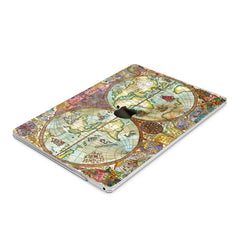 Lex Altern Hard Plastic MacBook Case Vintage Map
