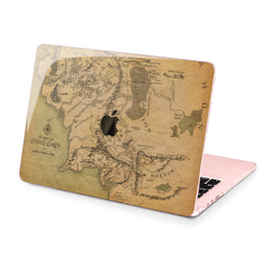 Lex Altern Hard Plastic MacBook Case Middle Earth