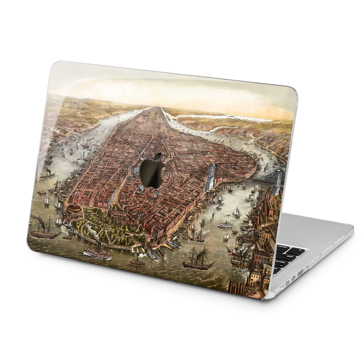 Lex Altern Lex Altern Old City Case for your Laptop Apple Macbook.