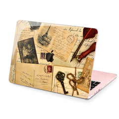 Lex Altern Hard Plastic MacBook Case Vintage Memories