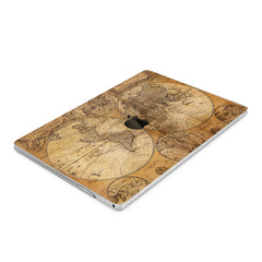 Lex Altern Hard Plastic MacBook Case Ancient Map