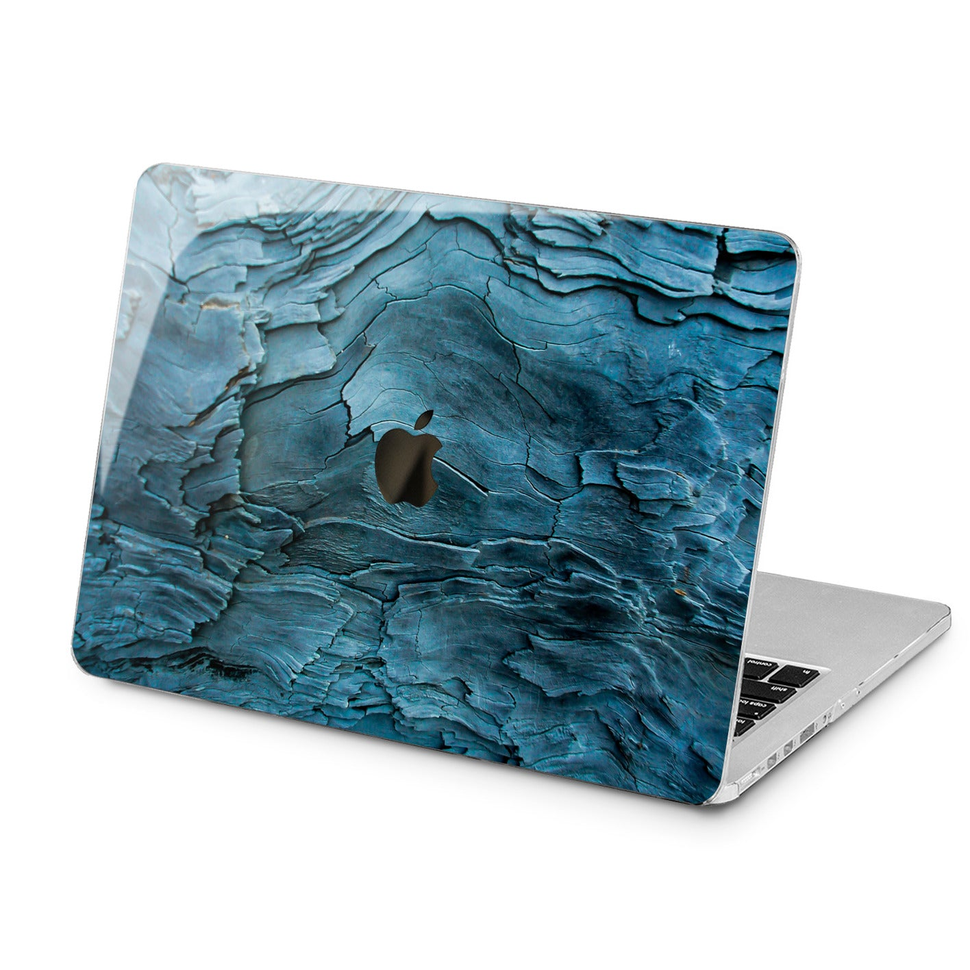 Lex Altern Lex Altern Blue Wood Case for your Laptop Apple Macbook.