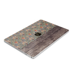Lex Altern Hard Plastic MacBook Case Boho Wood