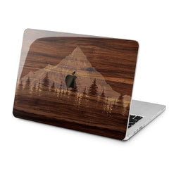 Lex Altern Lex Altern Wooden Mountain Case for your Laptop Apple Macbook.
