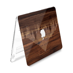 Lex Altern Hard Plastic MacBook Case Wooden Mountain