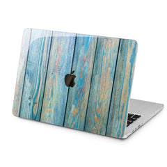 Lex Altern Lex Altern Blue Planks Case for your Laptop Apple Macbook.