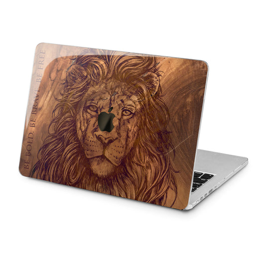Lex Altern Lex Altern Carved Lion Case for your Laptop Apple Macbook.