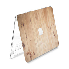 Lex Altern Hard Plastic MacBook Case Wood Pattern