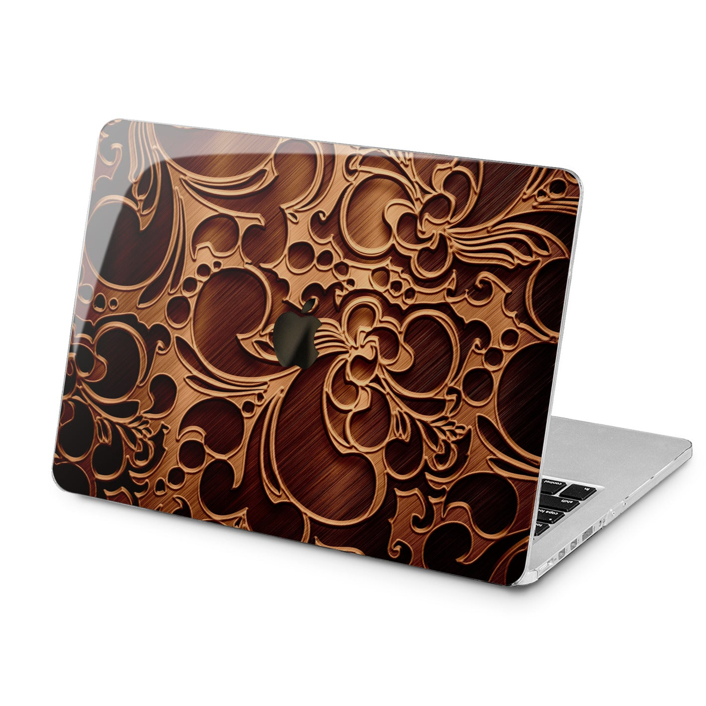 Lex Altern Lex Altern Wooden Ornament Case for your Laptop Apple Macbook.
