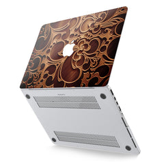 Lex Altern Hard Plastic MacBook Case Wooden Ornament