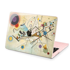 Lex Altern Hard Plastic MacBook Case Kandinsky Art
